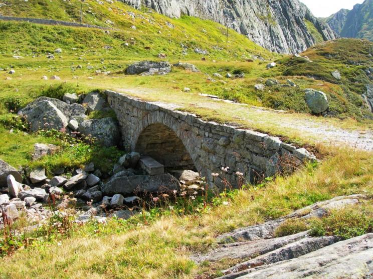 Unsere Helden wählten den Weg über den Gotthard, weil dieser Weg als einziger in Europa